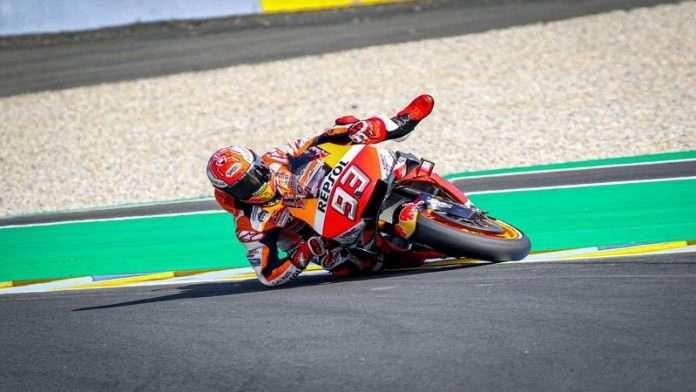MotoGP FRA Le Mans QP Marquez 1