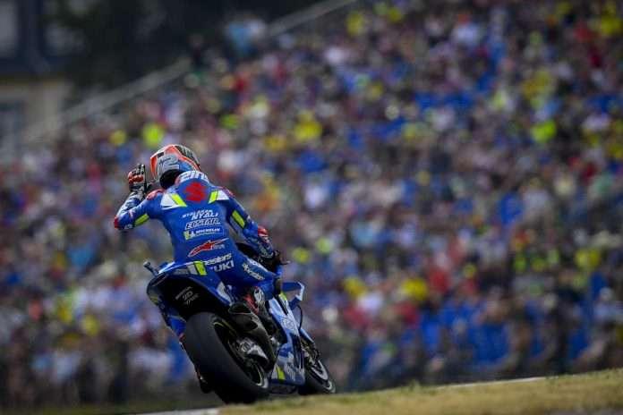 MotoGP Sachsenring Rins Suzuki 1