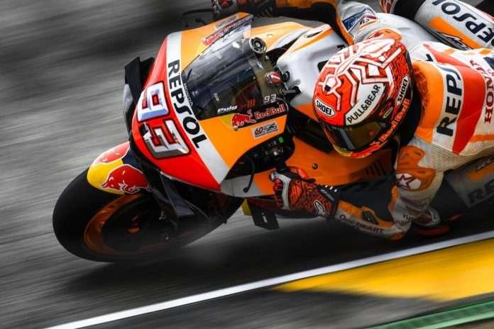 MotoGP Marc Marquez Germania FP 1