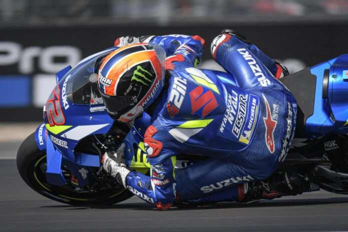 MotoGP Silverstone Alex Rins 1
