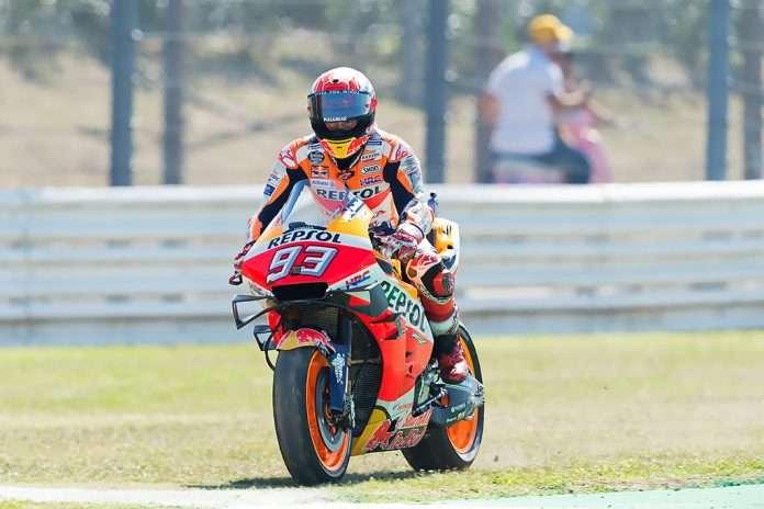 MotoGP Marc Marquez GP San Marino Honda Misano Adriatico 1