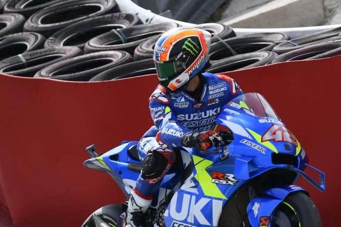 MotoGP Aragon Suzuki Rins 1