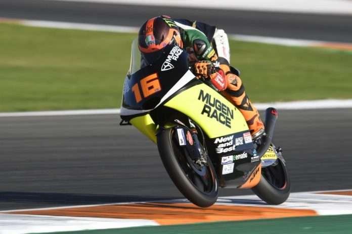 Andrea migno pole Valencia 2019
