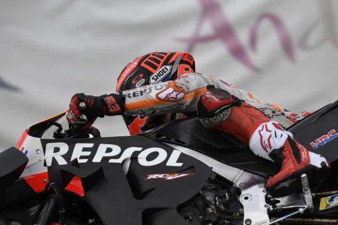 MotoGP Test Jerez 2020 Day2 Marc Marquez Honda 1