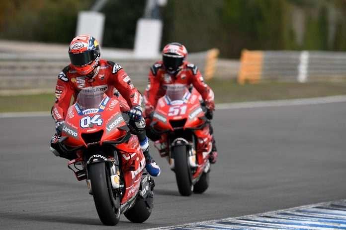 MotoGP Ducati Petrucci Dovizioso 1