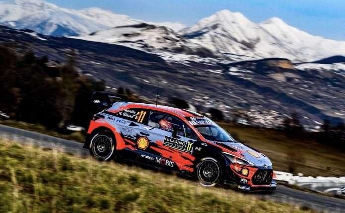 Thierry Neuville, su Hyundai i20, vince il Rally di Monte-Carlo