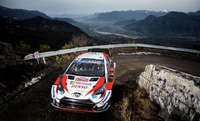 Sebastien Ogier nuovo leader del Rally di Monte-Carlo