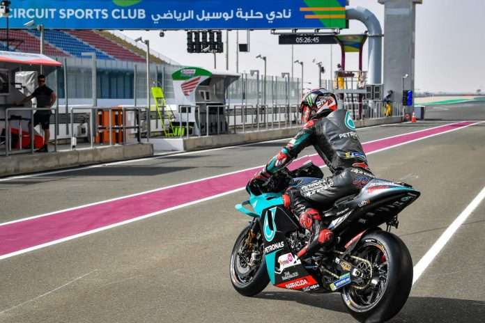 MotoGP 2020 Test Qatar Day-2 Quartararo 1
