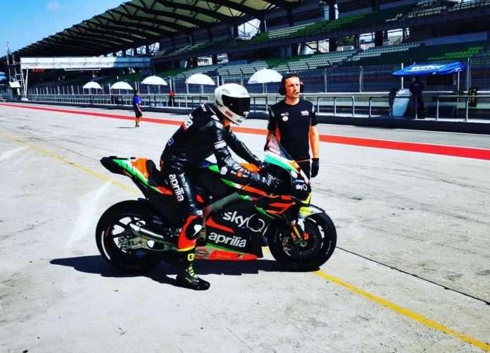 MotoGP Lorenzo Savadori Aprilia Sepang Test 2020 1