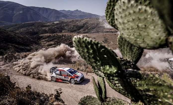 Ogier, su Toyota, comanda i giochi nella prima tappa del Rally del Messico