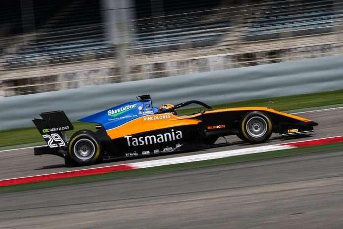 peroni fia f3 test bahrain 2020