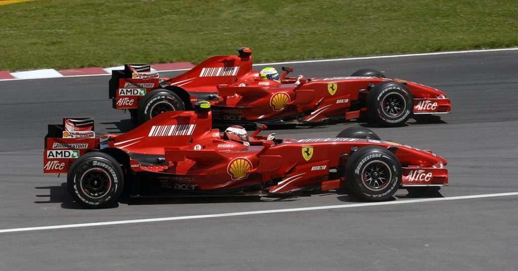 Livree storiche Ferrari