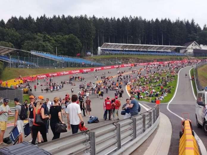 GP Belgio porte chiuse