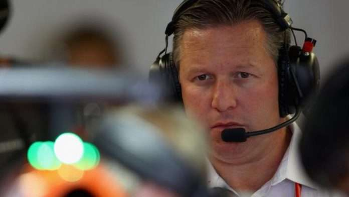 Zak Brown scuderie