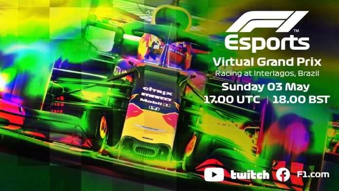 Virtual GP del Brasile al via Domenica 3 Maggio