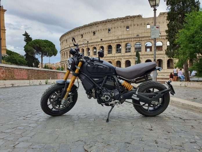 On the Road test Ducati Scrambler 1100 Sport Pro