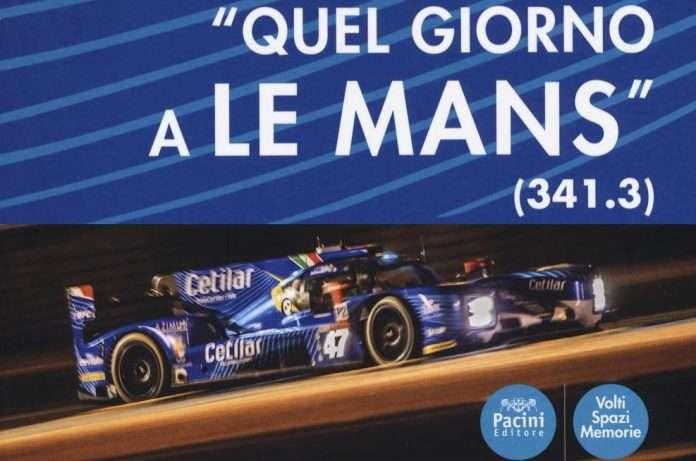 """La copertina di """"Quel giorno a Le Mans"""" (341.3) di Emiliano Tozzi edito da Pacini Editore"""