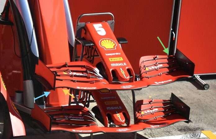 F1 GP Stiria tecnica