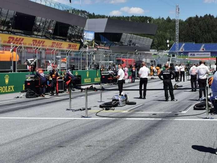 GP Austria cronaca live