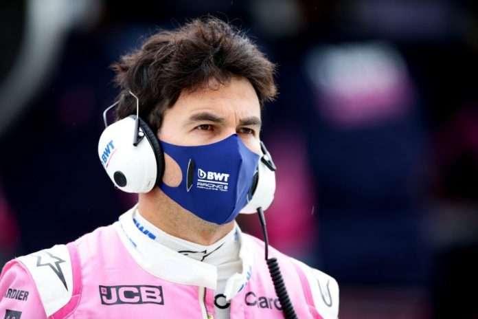 Sergio Perez auto-isolamento