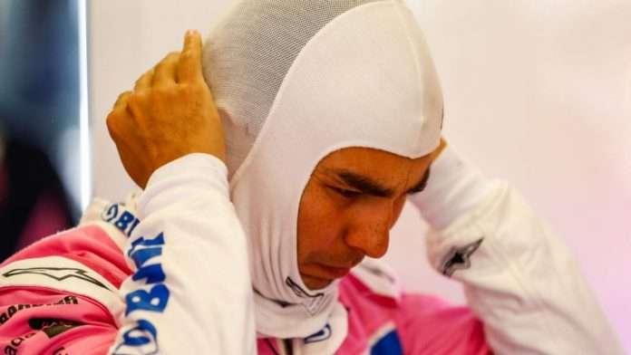 Sergio Perez positivo