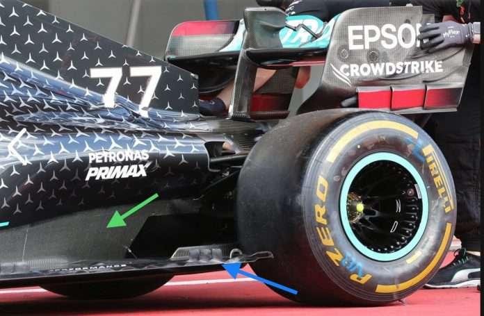 Continuano incessanti gli sviluppi aerodinamici in casa Mercedes