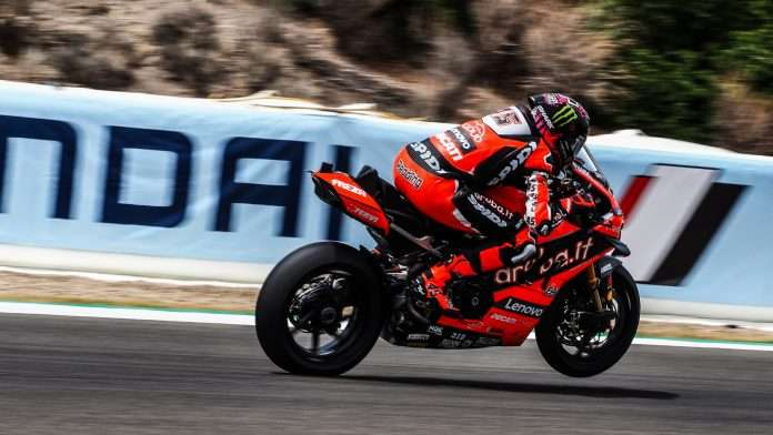 SBK Jerez 2020 gara-2 Redding 1