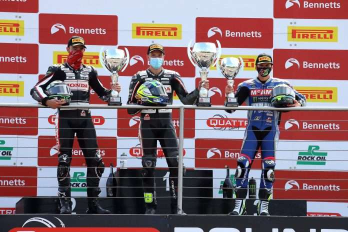 BSB 2020 Donington Park National Podium Irwin 1
