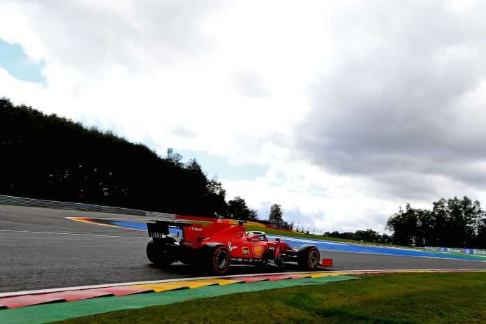 Belgio Ferrari lenta