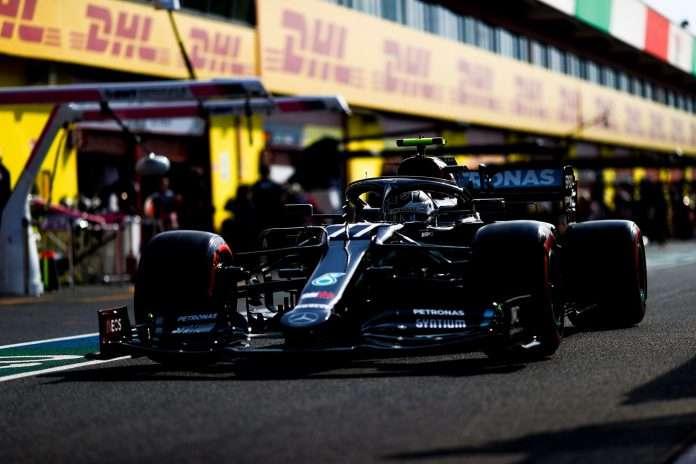 Valtteri Bottas si conferma davanti nelle terze libere del GP Toscana