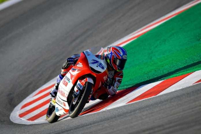 Ogura nuovo leader della Moto3