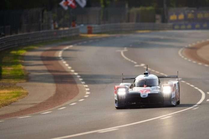 Le Mans Toyota hyperpole