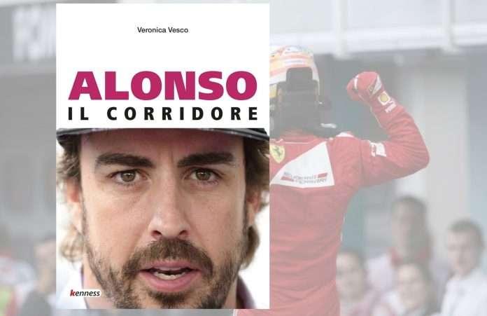 """La copertina di """"Alonso il corridore"""" ultima fatica letteraria di Veronica Vesco"""