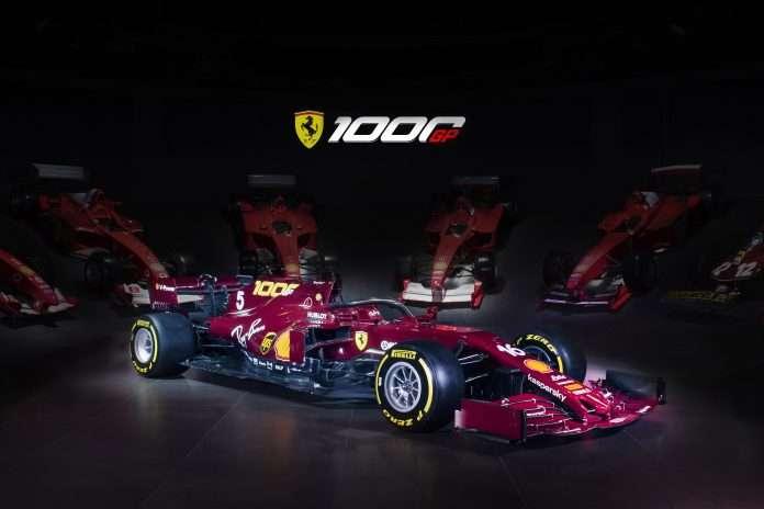 Ferrari 1000 GP livrea