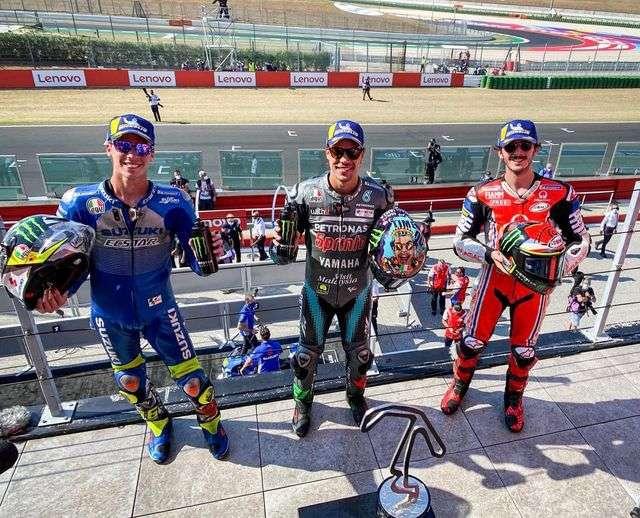 GP San Marino: Il podio di Misano