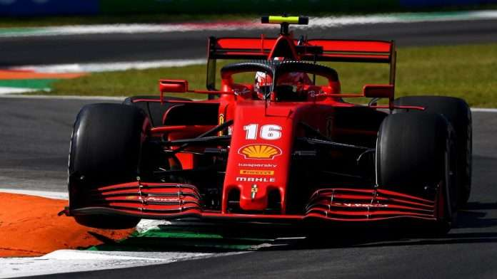 GP Eifel, qualifiche: Leclerc quarto
