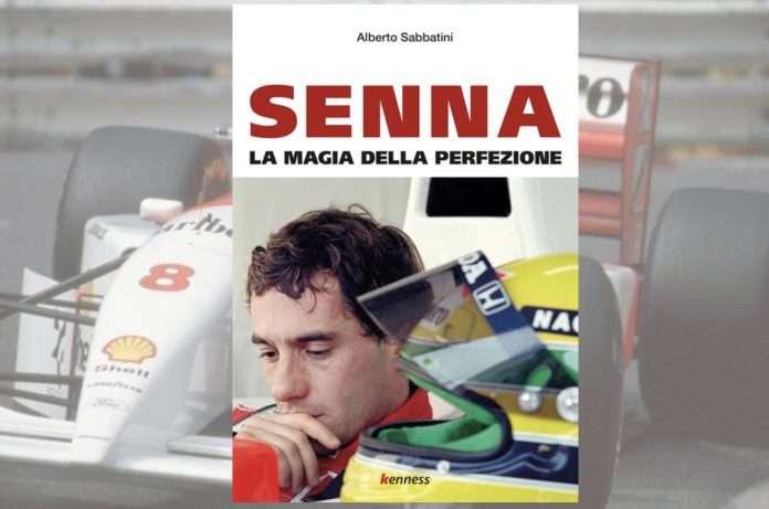 La copertina dell'opera prima di Alberto Sabbatini 'Senna la magia della perfezione'