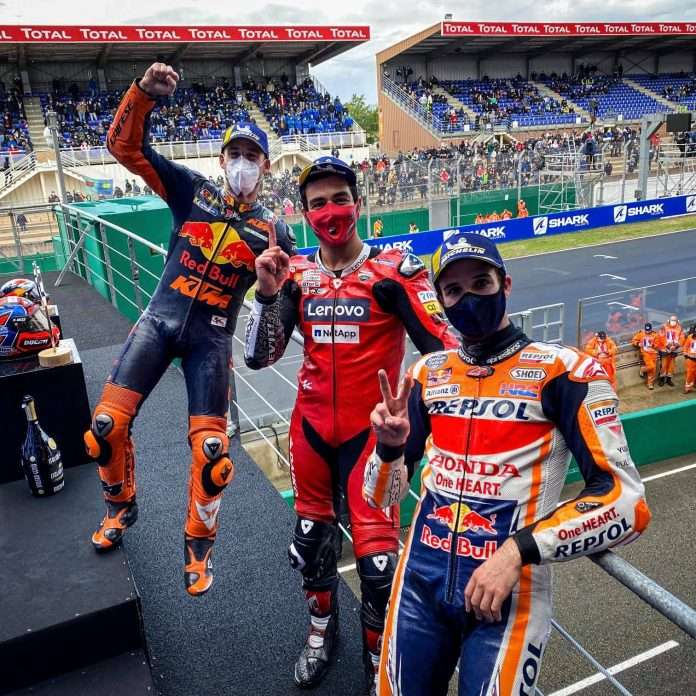 MotoGP: Vince Petrucci sul bagnato