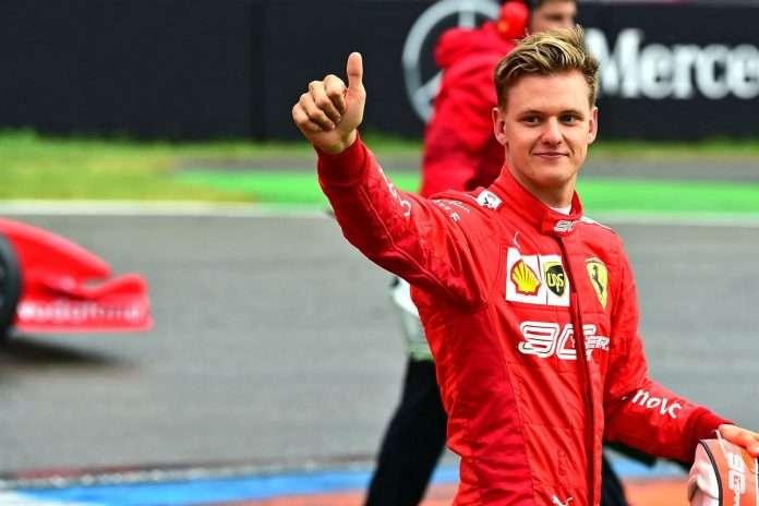 Mick Schumacher sogna la F1