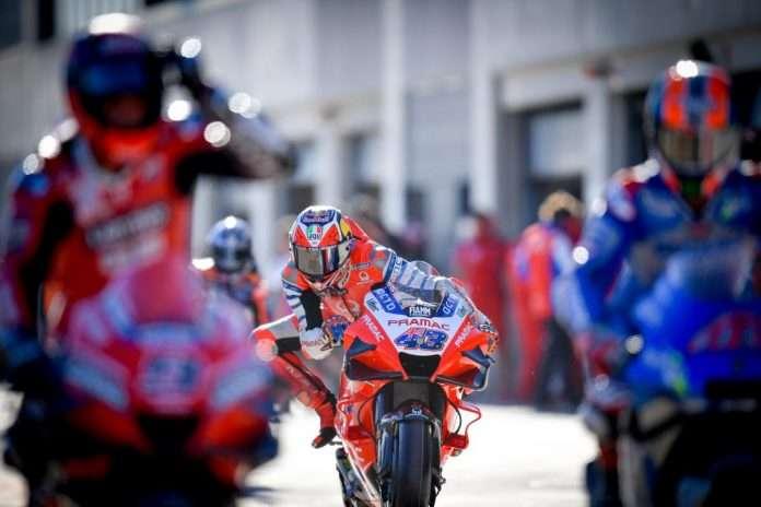 MotoGP 2020 GP Spagna Miller Bagnaia 1