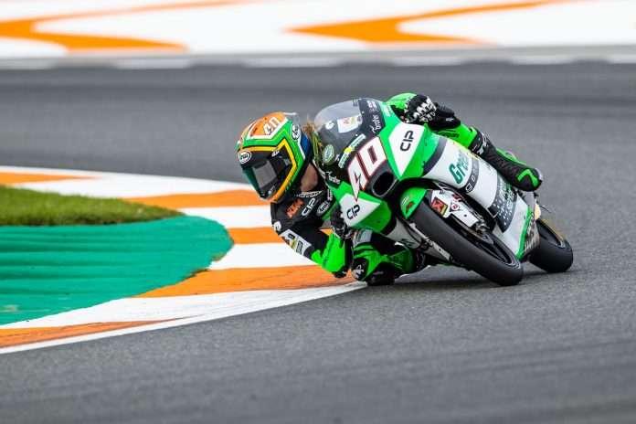 Darryn Binder GP Valencia 2020
