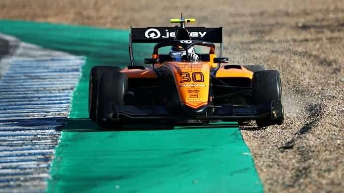 Alessio Deledda test post season FIA Formula 3 2020 Campos Racing