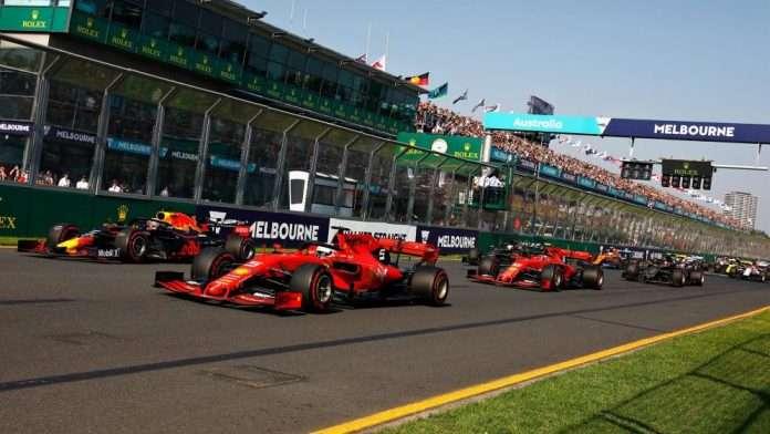 F1 bozza calendario 2021