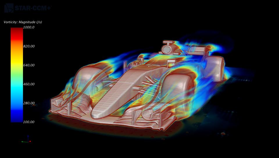 Simulazione CFD di una monoposto (GrabCAD)