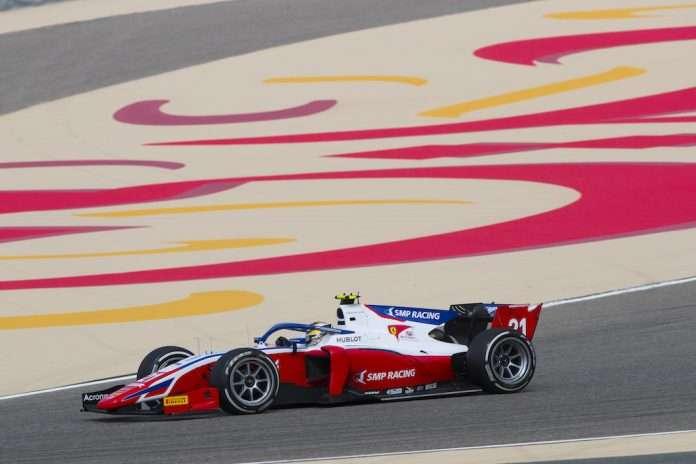 Shwartzman 2020 Prema Bahrain FIA F2