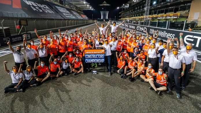F1 pagelle McLaren