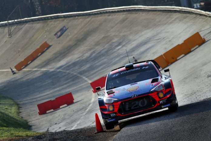 L'ACI Rally Monza farà da tappa finale al WRC targato 2020