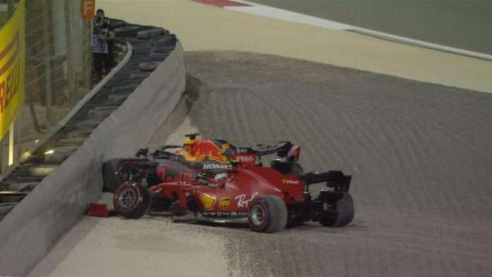 Sakhir Ferrari Leclerc