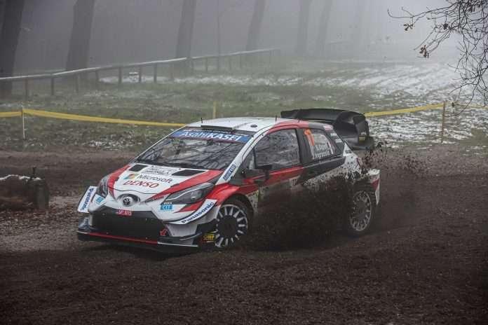 Sebastien Ogier, al termine della prima giornata, comanda la classifica dell'ACI Rally Monza
