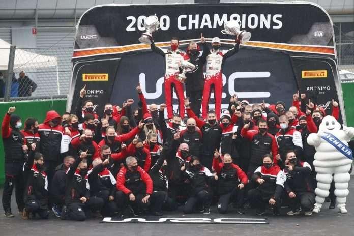 Sebastien Ogier e Julien Ingrassia hanno conquistato il settimo titolo nel WRC